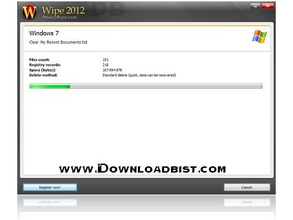 حذف کامل تاریخچه ی اینترنت و مرورگها با نرم افزار Wipe 2016.03