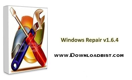تعمیر بخش های مختلف ویندوز با نرم افزار Windows Repair v2.11.1