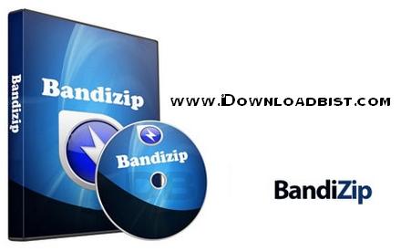 نرم افزار فشرده سازی فایل ها با دانلود Bandizip 5.12