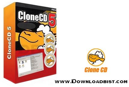 رایت انواع سی دی و دی وی دی توسط CloneCD 5.3.4.0 Final